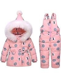 63a74e71d Amazon.co.uk  Pink - Snowsuits   Snow   Rainwear  Clothing