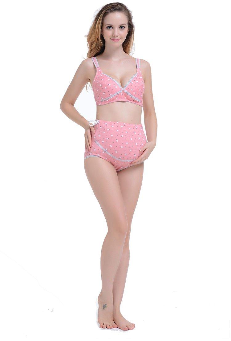 068dcd7a60e ... Nursing Bra and Highwaist Underwear Set for Pregnant Women Maternity  Lingerie Sets Pregnancy Innerwear Intimates. -75%. 🔍. Female