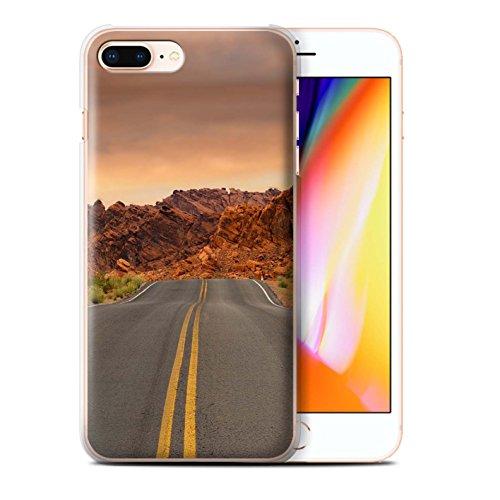 Stuff4 Hülle / Case für Apple iPhone 8 Plus / Straße/Autobahn Muster / Bundesstaat Nevada Kollektion Straße/Autobahn
