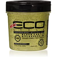Eco Styler Gel Coiffant Black Casto/Flaxseed Oil