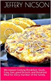 Ham Oven RECIPES: Microwave Cooking Breakfast: Quick, Easy, fast, good Brunch, and Breakfast Meal for every member of the family.