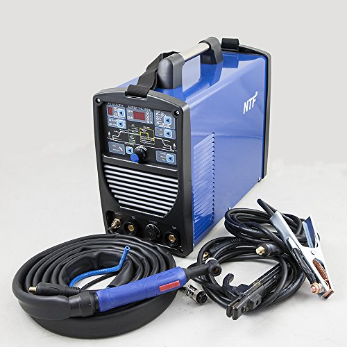 Preisvergleich Produktbild NTF TIG WIG Schweißgerät AC/DC Inverter SUPER TIG-200DI Pulse HF + MMA + IGBT TOP