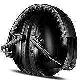 Gehörschutz für Baby und Kinder, ECHTPower Kapselgehörschutzer Ohrenschützer für Kids, Ab 12 Monaten bis 15 Jahre, SNR 25dB, Schwarz