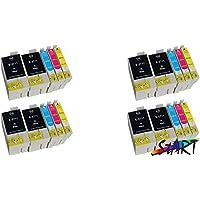 START 20Cartuchos chip compatible con Epson 27X L, T2711X L, T2712X L, t2713X L, T2714X L (8444)