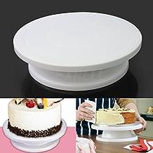 LGV Alza torta piatto girevole cake design alzata per torte decorazioni vassoio rotante diametro 28cm