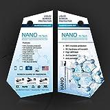 Nano Liquid pellicola trasparente non Bubble armatura film scratch riduce le impronte wipe-on invisibile Liquidfor cellulari e tablet