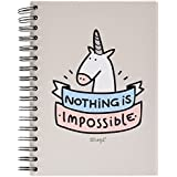 "Mr. Wonderful - Notebook , diseño ""Nothing is impossible"""