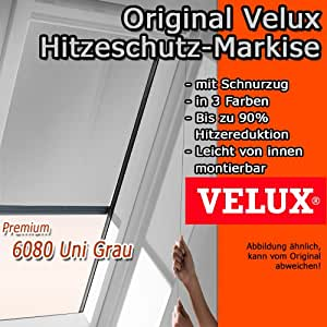 original velux hitzeschutz markise markise f r ggu gpu ghu ggl gpl ghl mal s00 6080. Black Bedroom Furniture Sets. Home Design Ideas