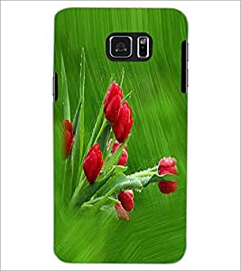 PRINTSWAG RED FLOWERS Designer Back Cover Case for XIAOMI MI4I