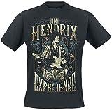 Jimi Hendrix Art Nouveau T-Shirt schwarz XL