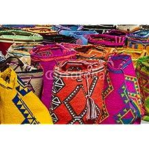 Mochilas Wayuu (80540835), lona, 90 x 60 cm