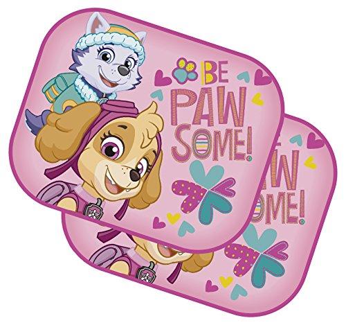 Arditex PW11534 Set de 2 Parasoles Coche Viseras Col con Lamina de Paw Patrol La Patrulla Canina
