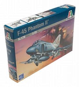 Italeri 170 - Maqueta avión F-4S Phantom II, escala 1:72