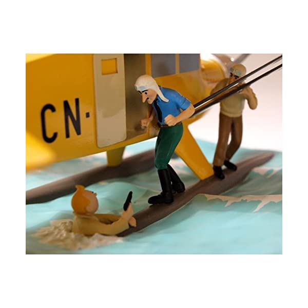 Maqueta de colección Tintín El Hidroavión CN-3411 40027 (2011) 6