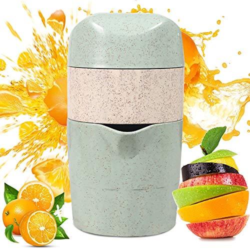 FASBHI Tragbare Saftpresse, manuelle Zitronenpresse Fruchtpresse Einfache Orangensaftpresse Pinguin Saft Tasse für den Heimgebrauch