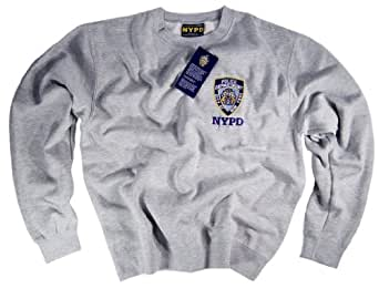 NYPD Shirt Sweatshirt Authentic Clothing Apparel Officially Licensed Merchandise by The New York City Police Department Medium