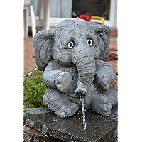SSITG großer Elefant 'Benjamin' - Wasserspeier - Skulptur - Steinfigur - Gartendeko