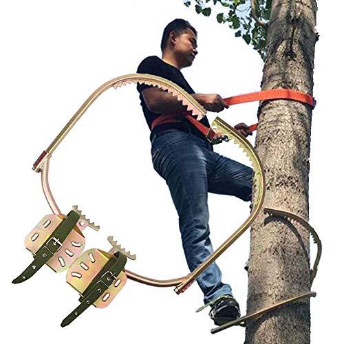 GNZY Tree Climbing Spikes Edelstahl Bäume Klettern Katzenklaue rutschfest Bäume Klettern Spikes Einfach Zu Verwenden,350Model