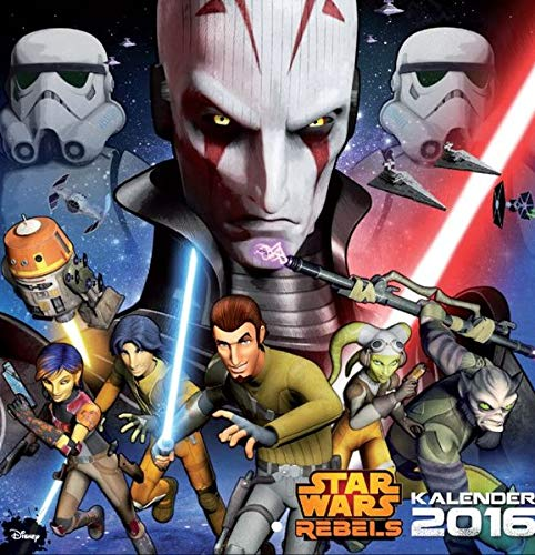 Star Wars Rebels - Wandkalender 2016