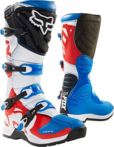 Fox Comp 5 Boot Blue/R