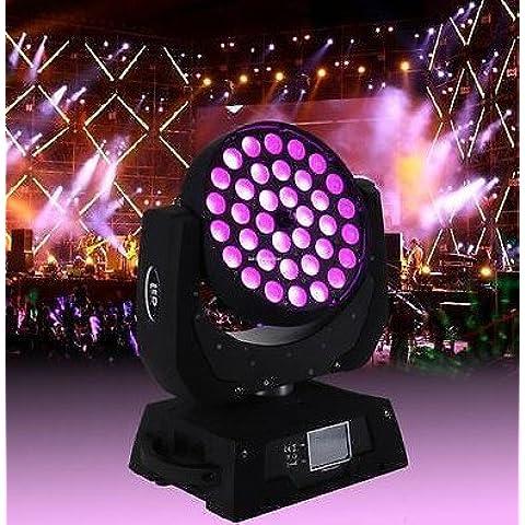 36 * 15 W LED zoom Inyección Moving Head Wash DJ Luz