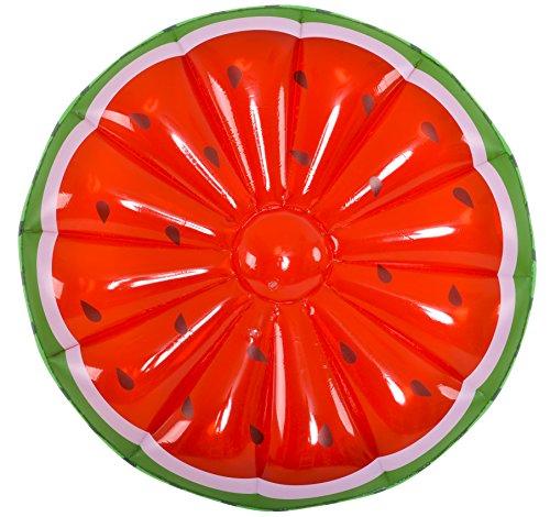 Jilong jl-633239 - salvagente gonfiabile maxi anguria, rosso, 148 cm