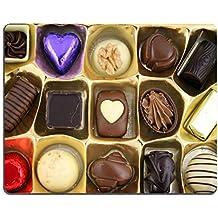 luxlady Tapis de souris gaming Close Up de luxe chocolat image d'identité 805905