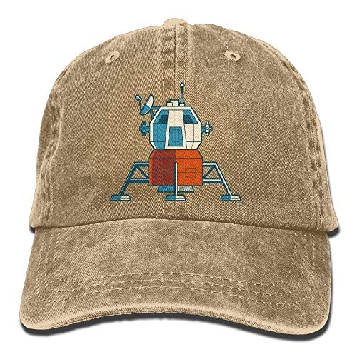 a4abfd0150d Aoliaoyudonggha Spacecraft Denim Baseball Caps Hat Adjustable Cotton Sport  Strap Cap for Men Women