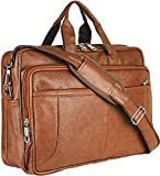Best Leather Messenger Bags - Thames Faux Leather 15.6 Laptop Messenger Bag/Sling Bag/Laptop Review