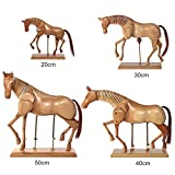 Artina Profi Glieder-Puppe Modellpuppe Zeichenpuppe Pferd 20cm