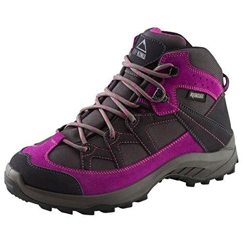 Mckinley Multi-Schuh Discover Mid Aqx W - anthrazit/purple schwarz/silber