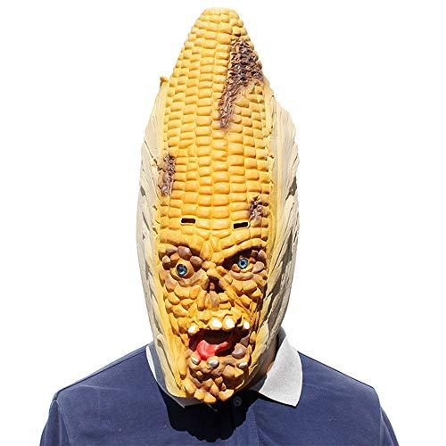 Gummi Parodie Horror Scary Mais Maske Halloween Kostüm Party Kostüm Dekorationen ()