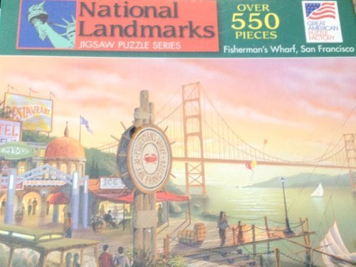 550 Piece Puzzle of Fisherman's Wharf in San Francisco by Great American  Puzzle Factory