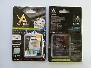 Batterie extra capacité origine ANDIDA remplace BH06100 o BA-S570 1250mAh pour HTC ChaCha
