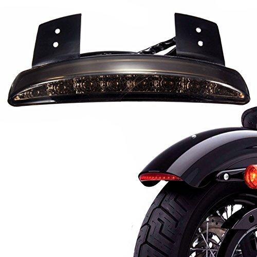 Ankia Motorrad gehackte hinten Fender Edge LED Bremse Kennzeichenbeleuchtung Rücklicht Stop Running Light Blinker Lampe für Harley Sportster Xl883 N 1200 N Xl1200 V XL1200 X