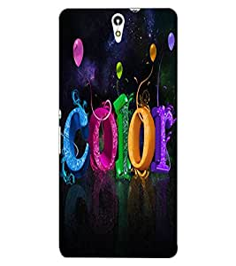 ColourCraft Color Design Back Case Cover for SONY XPERIA C5 E5553 / E5506