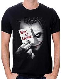 Batman Joker Why So Serious Camiseta para Hombre