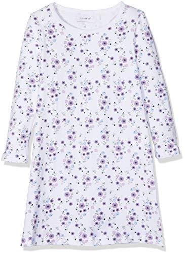 NAME IT Mädchen Nachthemd NKFNIGHTGOWN Mauve Mist NOOS, Mehrfarbig, 104