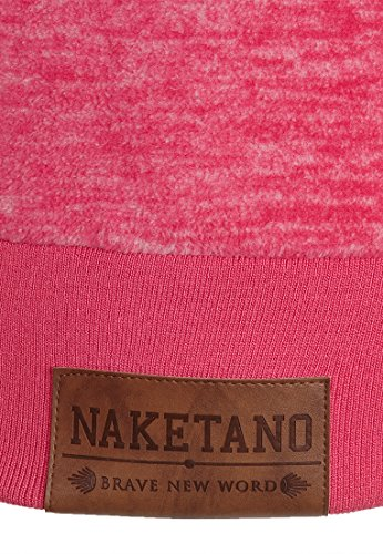 Naketano Kanisterkopf IV W sweat à capuche Raspberry Melange