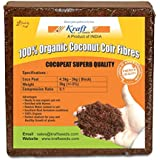Gate Garden® Cocopeat Block | Agropeat Block - Expands Up to 75 litres of Coco Peat Powder for All Seeds and Plants