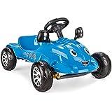 Siva 07302–Pedal Herby Car de coche, color azul