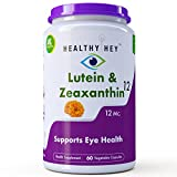 Best Eye Healths - HealthyHey Nutrition Lutein Zeaxanthin Capsules (60Caps/10mg) Review