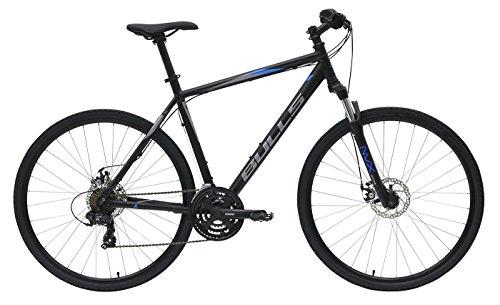 Herren Fahrrad 28 Zoll schwarz - Bulls Wildcross Crossbike - Shimano Schaltung 21 Gänge