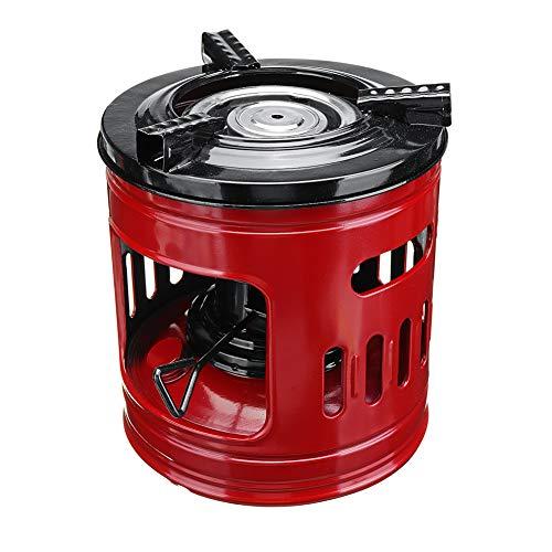 GYFHMY Handlicher, tragbarer 8-Dochte-Kerosinofen für den Außenbereich, Winddichte Ölheizungen mit hoher Leistung, Alkoholöfen, perfekt für Camping-Picknickbrenner, Ofen zum Kochen und Grillen