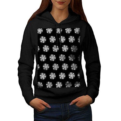 Snowflake Cute Christmas Women S Kapuzenpullover | Wellcoda