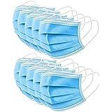 Masken, pakket van 20-maskers standaard verzegelde tas Protected Health-3 PLY masker-Blue