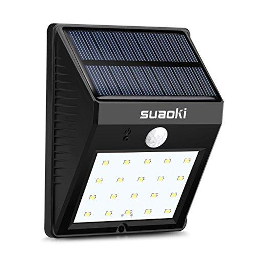 suaoki-super-lit-20-solar-motion-sensor-light-20-led-800mah-rechargeable-battery-dim-bright-lighting