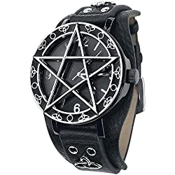 Toltecs Amulet Wristwatch faux leather