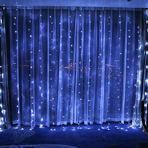 W&z luce stringa indoor led stringa decorazione lampade illuminazioni per albero di natale camera giardino compleanno parti di nozze 9,8 ft × 9,8 ft,c