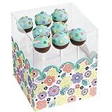 Wilton 415–5929Behälter für Cakepops Frühling, Pappe, grün